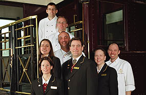 The Royal Canadian Pacific - Train Staff