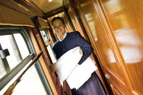 The Royal Scotsman: Housekeeping on the move